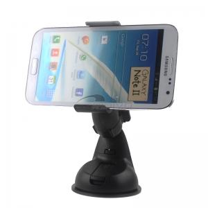 Automobilinis Universalus telefono laikiklis CPH-05 (žnyplės) didelis juodas