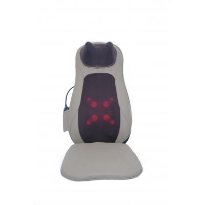 Masažinė sėdynė Tellos BC-015 Bodycare (kaklo, nugaros ir sėdmenų masažuoklis) rudas