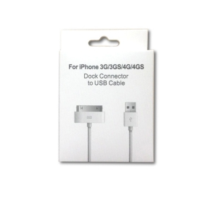 USB kabelis Apple 4G 30-Pin 1.0m HQ