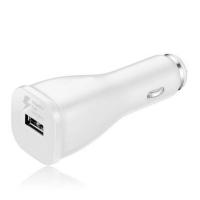 Įkroviklis automobilinis originalus Samsung EP-LN915U FastCharge 2A USB baltas, be laido