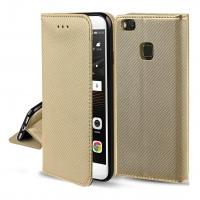 Dėklas  Smart Magnet  Huawei P9 Lite auksinis