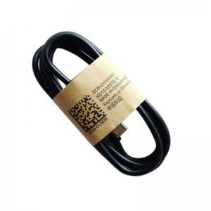 USB kabelis microUSB juodas HQ, 1.0m