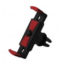 Automobilinis Universalus telefono laikiklis Tellos CPH-25, tvirtinamas ant ventiliacijos grotelių, (5,5-8,5 cm) su rakinimo mygtuku