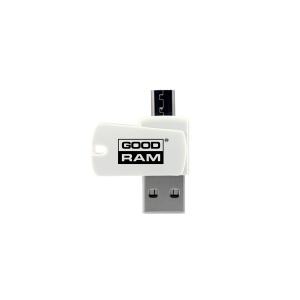 microSD kortelių skaitytuvas Goodram OTG (USB+microUSB)