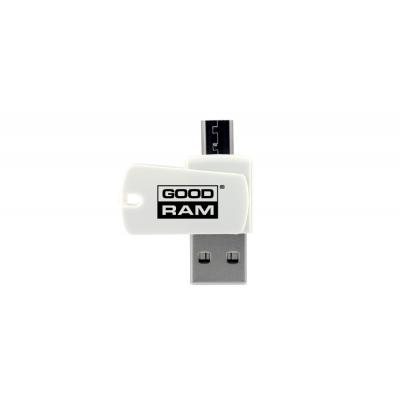 MicroSD kortelių skaitytuvas GOODRAM OTG (USB+ microUSB )