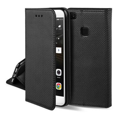 Dėklas  Smart Magnet  Huawei P8 Lite 2017 / P9 Lite 2017 / Huawei Honor 8 Lite / Huawei Nova Lite juodas