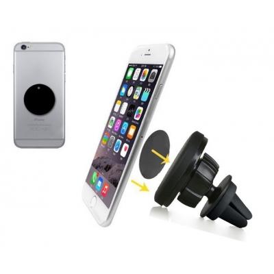 Automobilinis Universalus telefono laikiklis CPH-27, tvirtinamas ant ventiliacijos grotelių, magnetinis, didelis