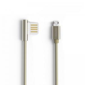 USB kabelis Remax RC-054m Emperor microUSB sidabrinis