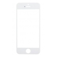 LCD stikliukas Apple iPhone 5S / SE su rėmeliu ir OCA baltas ORG