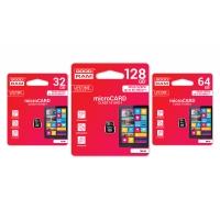 Atminties korta Goodram microSD 32Gb (class 10) be adapterio