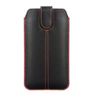 Dėklas Forcell Ultra Slim M4 i9100 S2 XXL juodas