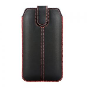 Dėklas Forcell Ultra Slim M4 Samsung S10 / Note 10 / J3 2017 Huawei P30 XXXL juodas