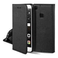 Dėklas  Smart Magnet  Huawei P20 Lite juodas