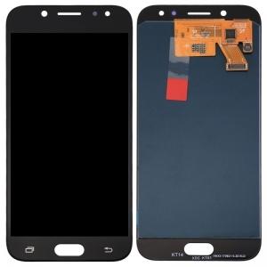 Ekranas Samsung J530 J5 2017 su lietimui jautriu stikliuku juodas originalus (service pack)