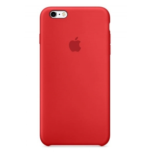 Dėklas ORG Silicone case iPhone 6 red