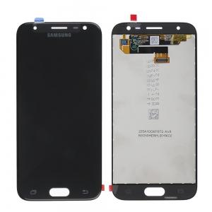 Ekranas Samsung J330 J3 2017 su lietimui jautriu stikliuku juodas originalus (service pack)