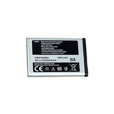 Akumuliatorius ORG Samsung C3300 1000mAh AB553446BU / X630 / C300 / C3300K / C3520 / B300 / C5212 / E1170 / D520 / B130 / E1200 AB553446BU