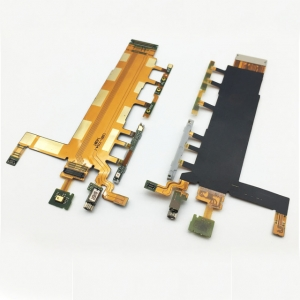 Lanksčioji jungtis Sony D6602 / D6603 / Z3 šoninių mygtukų su mikrofonu (3G vers.) ORG