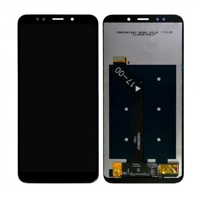 Ekranas Xiaomi Redmi Note 5 su lietimui jautriu stikliuku juodas HQ