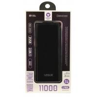 Išorinė baterija POWER BANK Leslie LP006 11000mAh juoda