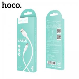 USB kabelis Hoco X25 Type-C 1.0m baltas