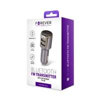 Forever TR-340 Bluetooth MP3 grotuvas / FM bangų moduliatorius (laisvų rankų įranga, microSD, SD, 2xUSB, LCD, 2x2.4A įkroviklis)