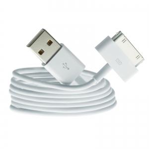 USB kabelis Apple iPhone 4 30-Pin 3.0m HQ
