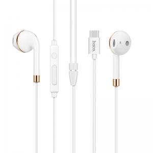 Laisvų rankų įranga Hoco L8 Type-C balta (jungiama per Bluetooth)