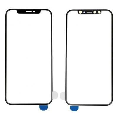 LCD stikliukas Apple iPhone XS su OCA juodas V2 ORG