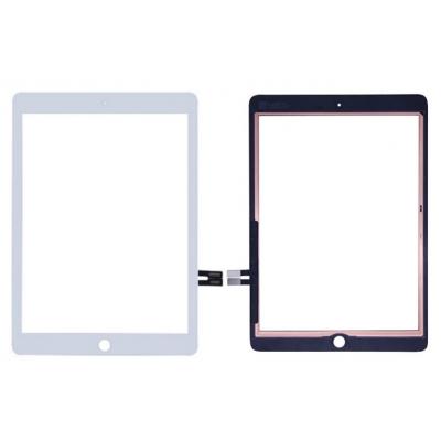 Lietimui jautrus stikliukas Apple iPad 2018 9,7 (6th) baltas HQ