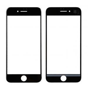 LCD stikliukas Apple iPhone 7 su rėmeliu ir OCA juodas V2 ORG