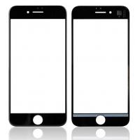 LCD stikliukas Apple iPhone 8 su rėmeliu ir OCA juodas V2 ORG