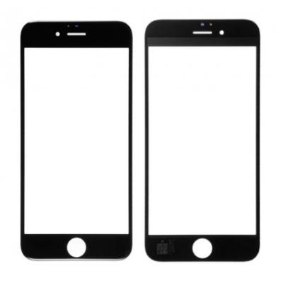 LCD stikliukas Apple iPhone 6S su rėmeliu ir OCA juodas V2 ORG