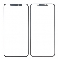 LCD stikliukas Apple iPhone XR su rėmeliu ir OCA juodas V2 ORG