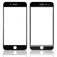 LCD stikliukas Apple iPhone 8 Plus su rėmeliu ir OCA juodas V2 ORG