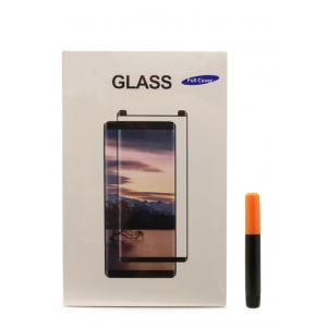 LCD apsauginis stikliukas M1 5D UV Glue Huawei P30 Pro lenktas skaidrus