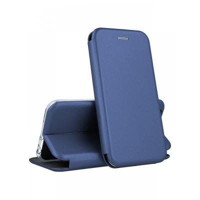 Dėklas  Book Elegance  Samsung A750 A7 2018 tamsiai mėlynas