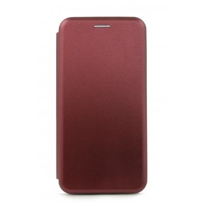 Dėklas Book Elegance Samsung A750 A7 2018 bordo