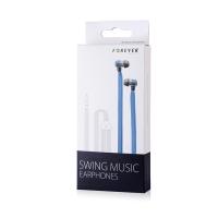 Laisvų rankų įranga Forever Swing Music 3,5mm mėlyna