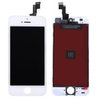 Ekranas Apple iPhone 5S / SE su lietimui jautriu stikliuku baltas Tianma