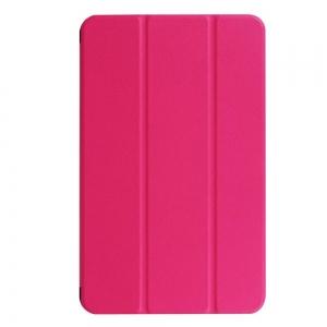 Dėklas Smart Leather Huawei MediaPad T5 10.0 rožinis