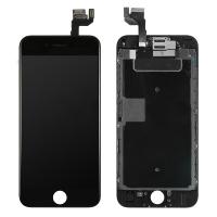 Ekranas Apple iPhone 6S su lietimui jautriu stikliuku juodas Tianma