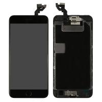 Ekranas Apple iPhone 6S Plus su lietimui jautriu stikliuku juodas Tianma