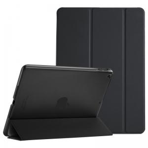 Dėklas Smart Leather Samsung T510 / T515 Tab A 10.1 2019 juodas