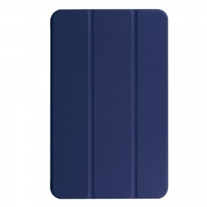 Dėklas Smart Leather Samsung T510 / T515 Tab A 10.1 2019 tamsiai mėlynas