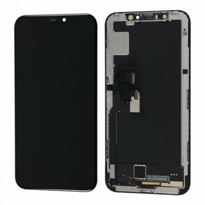 Ekranas Apple iPhone X su lietimui jautriu stikliuku GX soft OLED