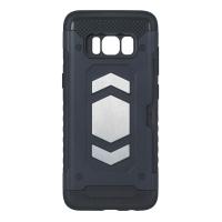 Dėklas  Defender Magnetic  Samsung A750 A7 2018 juodas