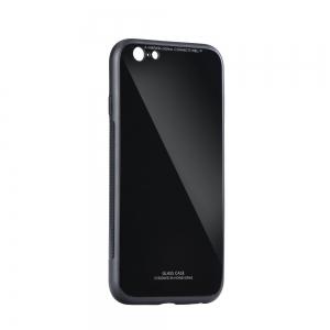 Dėklas Glass Case Samsung J415 J4 Plus 2018 juodas