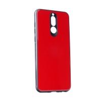 Dėklas  Glass Case  Samsung J415 J4 Plus 2018 raudonas