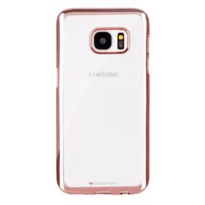 Dėklas Mercury Ring 2 Samsung G950 S8 rožinis-auksinis